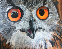 """""""Life's a Hoot"""" SOLD"""