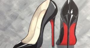 Louboutin black shoes SOLD