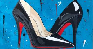 Louboutin black shoesDRIPPY