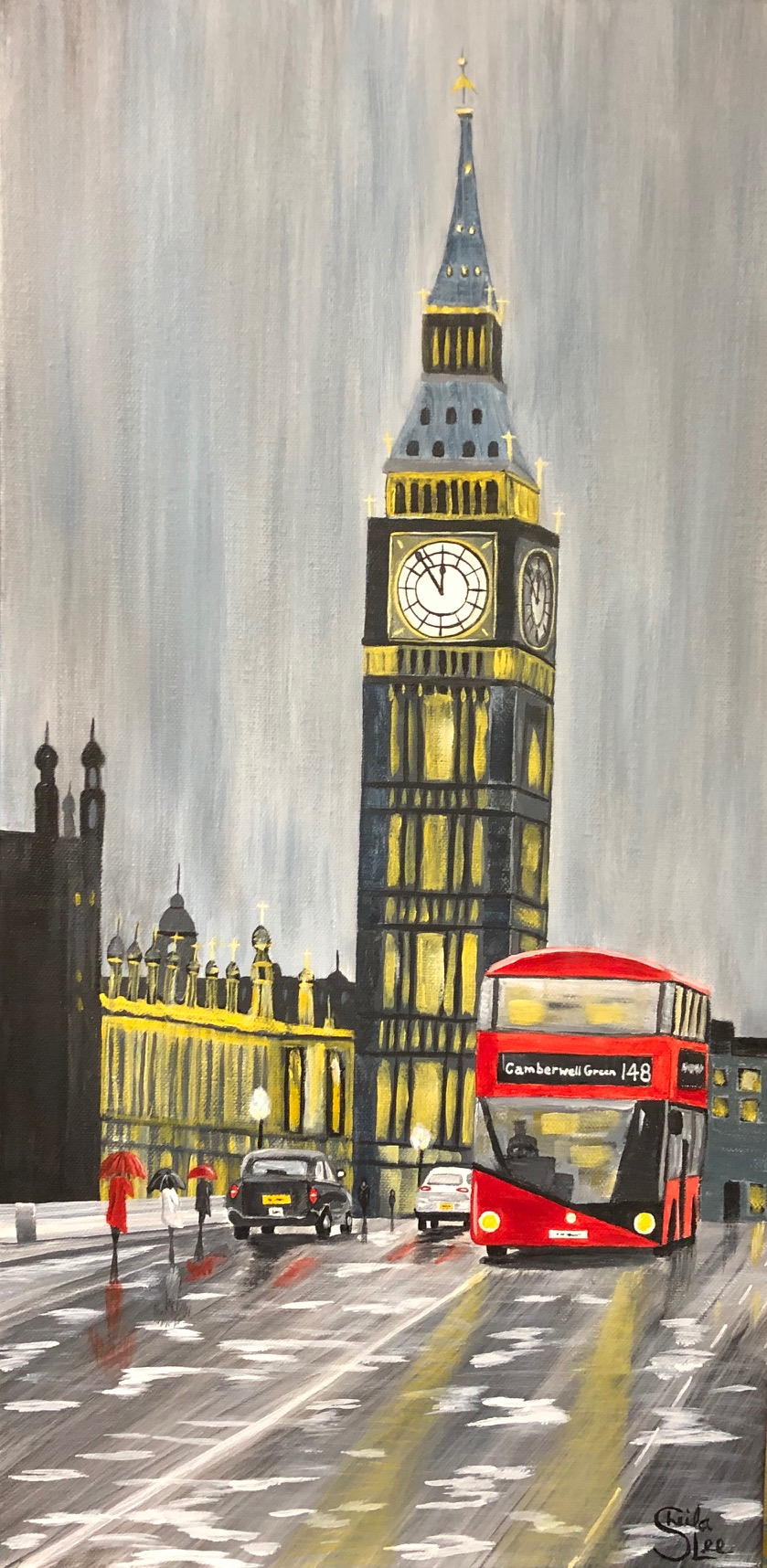 SOLDStormy London Night