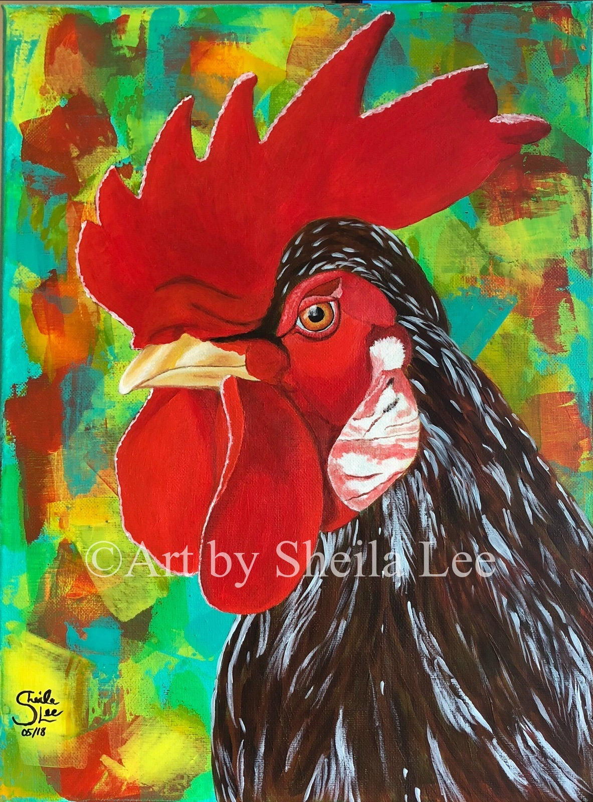 Spike-The-Rooster