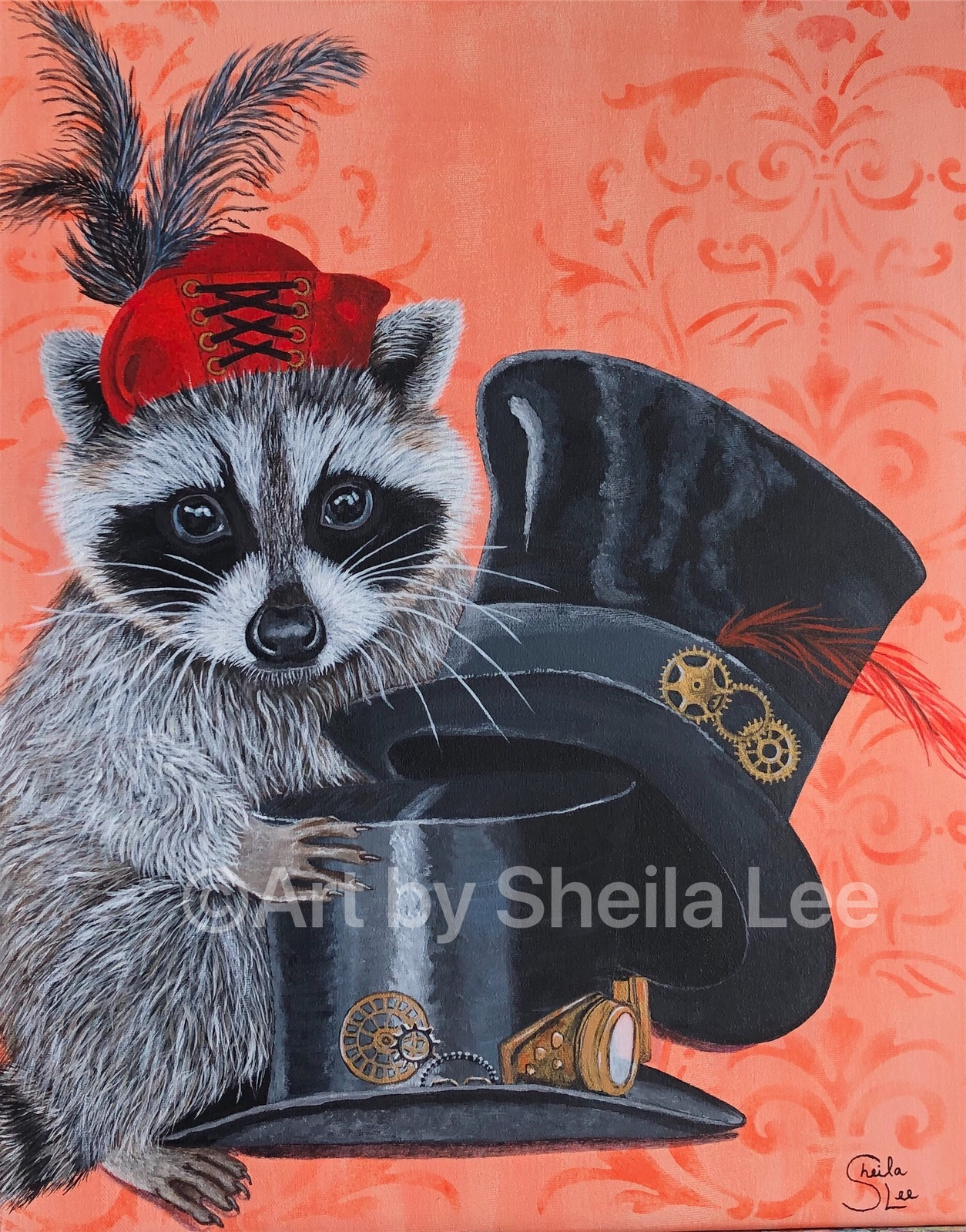 Steampunk-Racoon