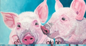 Pig Painting 1