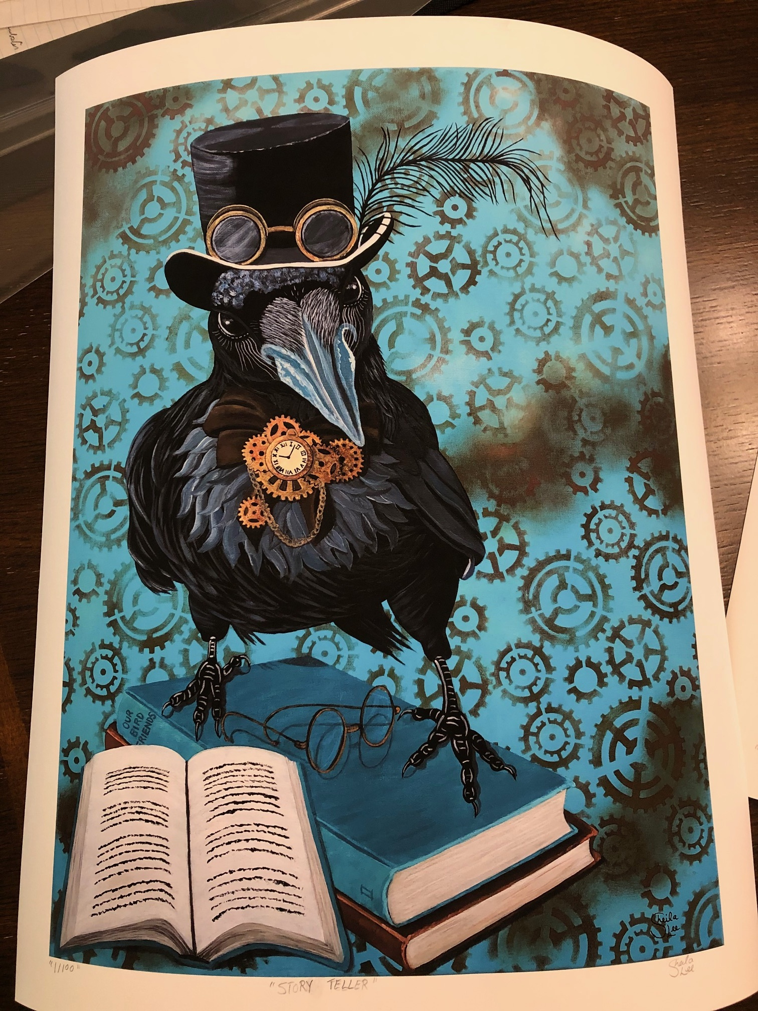 Limited Edition Print-Story-Teller