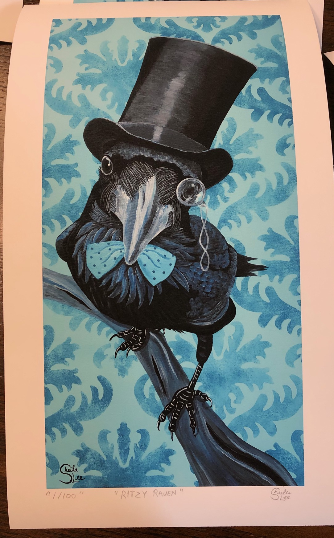 Limited Edition Print Ritzy Raven