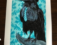 Limited Edition Print-Spruced-Up-Corvus