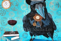 Corvid-Wine-Scholar-Print-on-Canvas