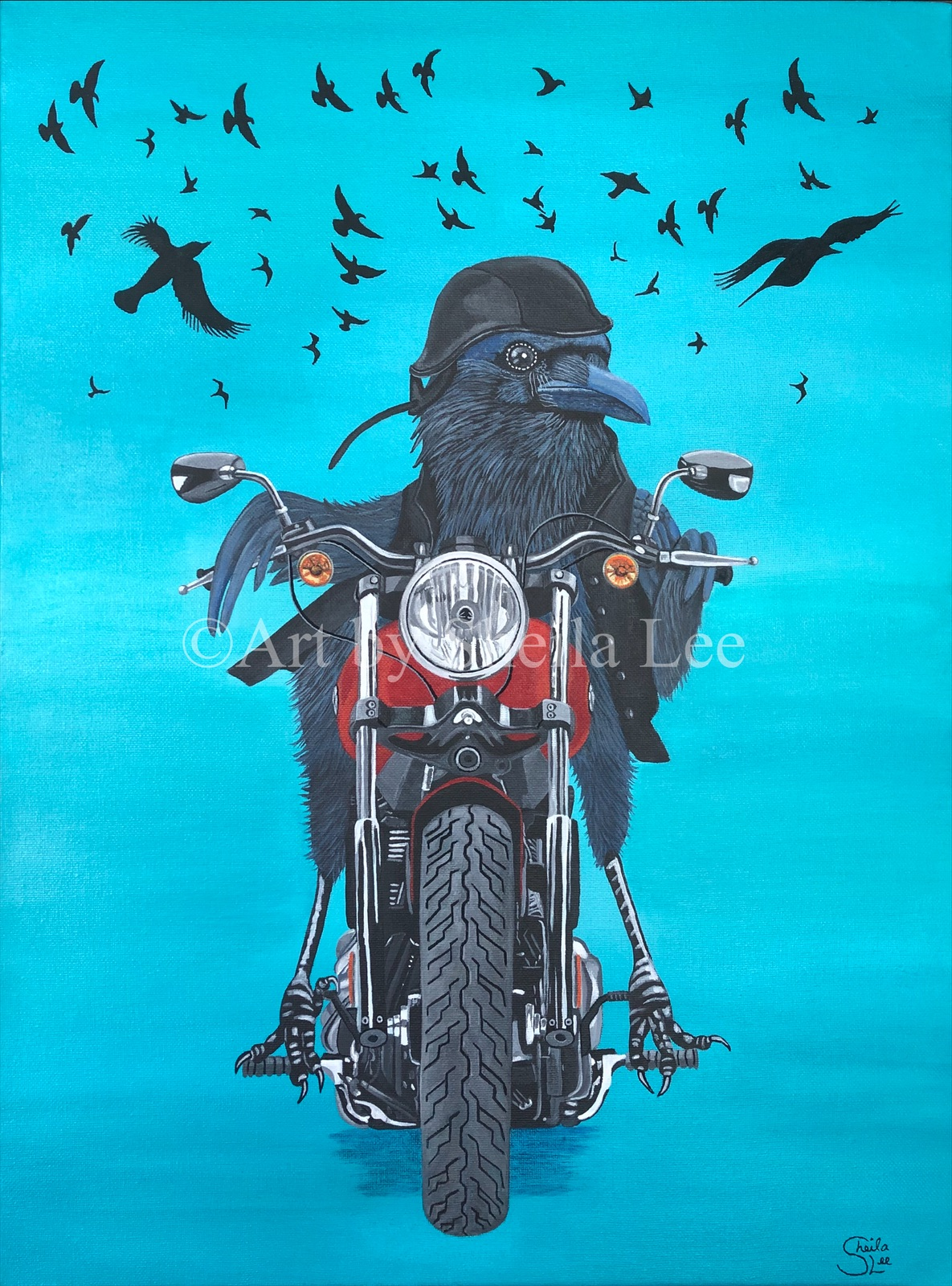 Born To Be Wild  Private Collection
