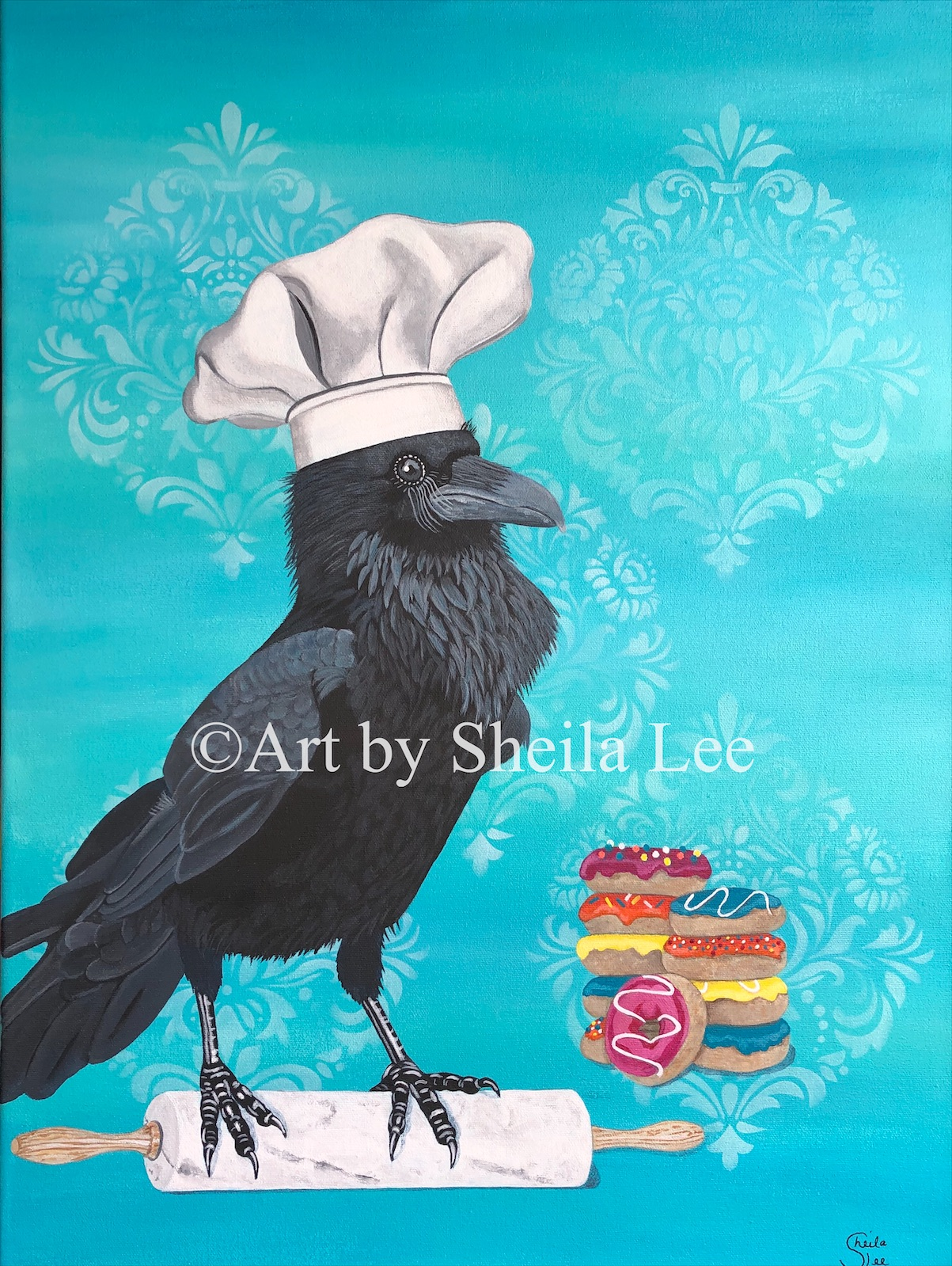 Chef-Raven SOLD
