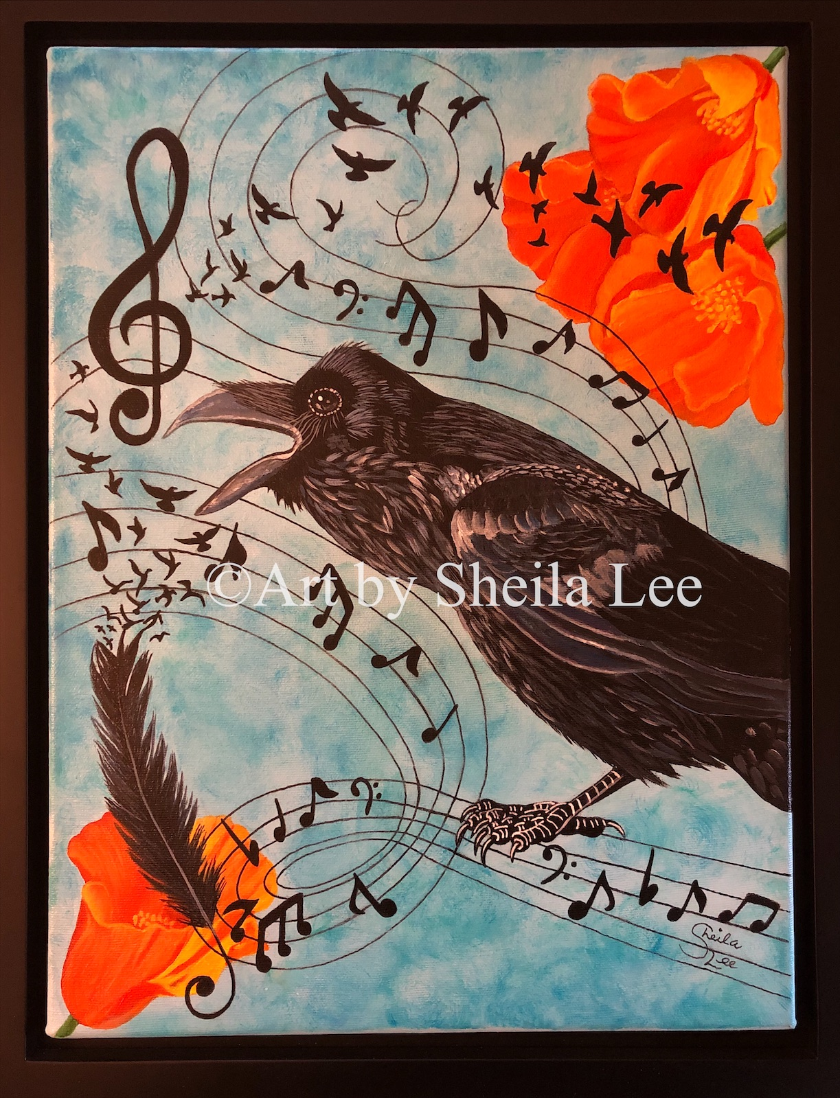The Singing-Raven  Sold