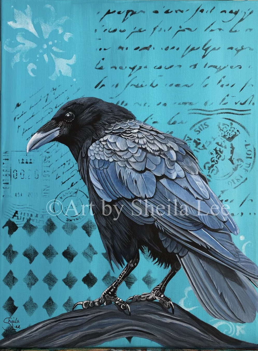 SOLD The-Crow-Courier