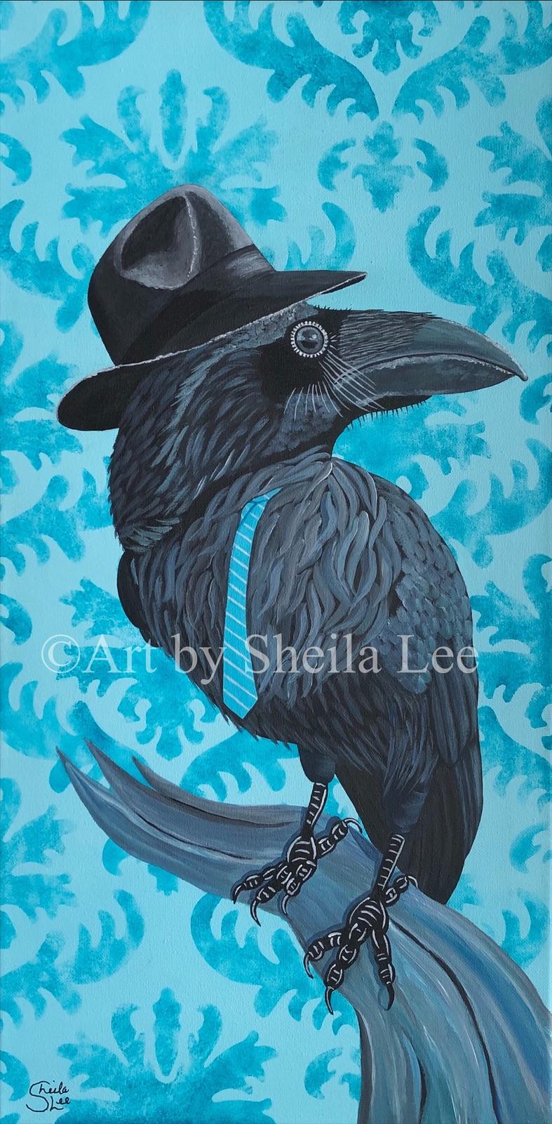 SOLD The-Pompous-Raven