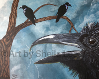 "SOLD ""The Raven"""