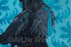 SOLD Strutting-Raven-Style