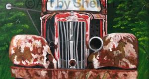 Rusty Truck SOLD