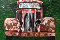 Rusty Truck SOLD